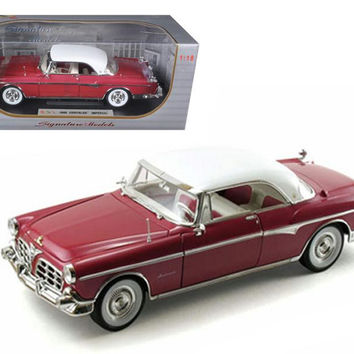 1955 Chrysler Imperial Canyon 1-18 Diecast Car Model by Signature Models