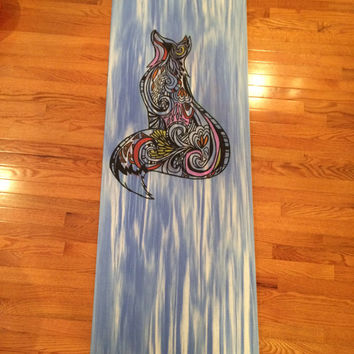 Custom Fox Yoga Mat