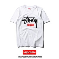 Cheap Women's and men's supreme t shirt for sale 501965868-0110