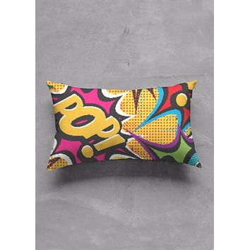 COMIC POP ART PILLOWS