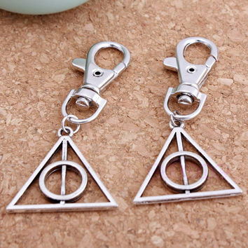 1 pc Movie Deathly Hallows Metal Tool Key Chain Keyring For Harry Potter Mini MAY16