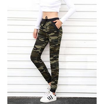 Womens Sweatpant Camo