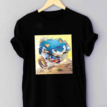Sonic The Hedgehog - T Shirt for man shirt, woman shirt XS / S / M / L / XL / 2XL / 3XL **