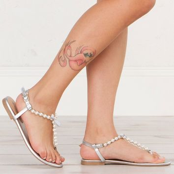A TOUCH OF LOVE PEARL SANDAL - What's New