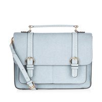Oxford Satchel Bag | Blue | Accessorize