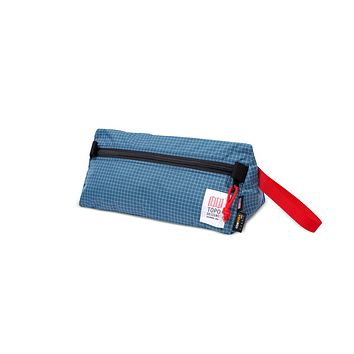 Topo Designs - Blue White Ripstop Unisex  Dopp Kit