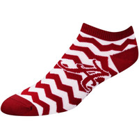 Alabama Crimson Tide Women's Chevron Stripes Ankle Socks – Crimson