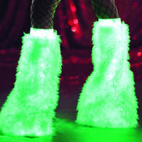 Glow in the Dark White Solid Fluffies