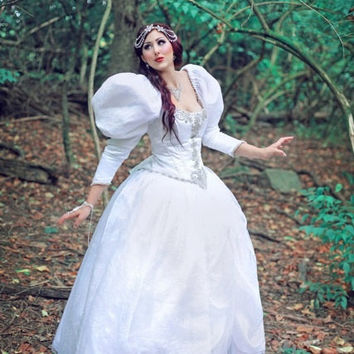 Sarahs Labyrinth Masquerade Movie Gown Custom Made Item Wedding Victorian