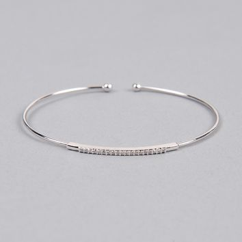 Armitage Avenue Pave Open Cuff
