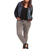 Contrast Trim Jogger | Wet Seal+