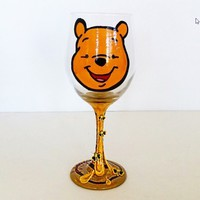 Winnie The Pooh Wine Glass - Disney Wine Glasses