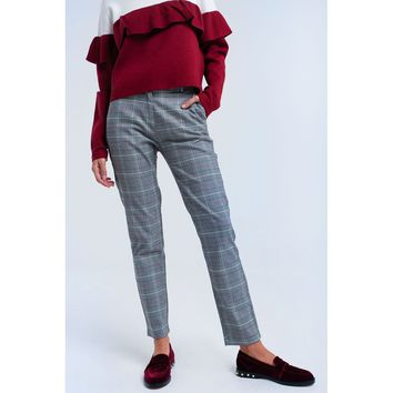 Red Regular Fit Trouser