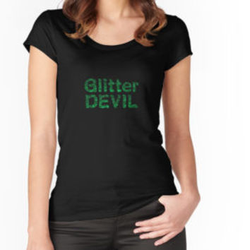 'Glitter devil' T-Shirt by Darkstiella