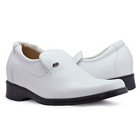 Leather Low Heel Comfort Loafers Shoes