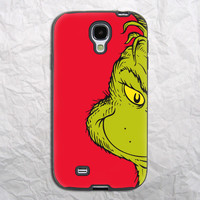 Grinch Christmas Monster Samsung Galaxy S4 Case