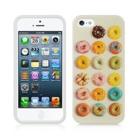 APPLE IPHONE® 5 TPU IMD CASE (DONUTS)