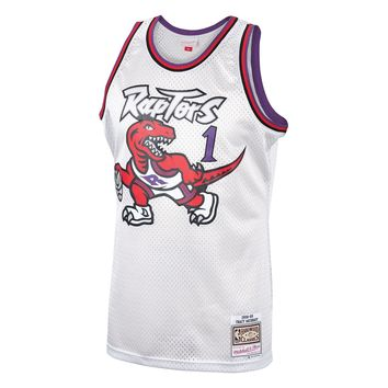 Vintage Tracy McGrady Toronto Raptors Jersey by Mitchell & Ness