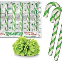 Wasabi Candy Canes
