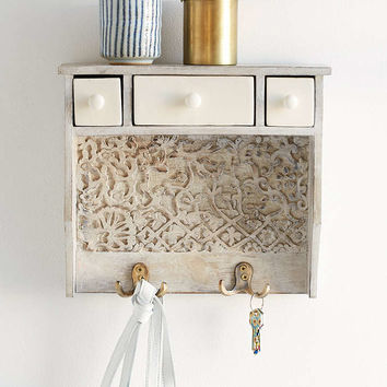 Painted Woodblock Wall Shelf - Urban Outfitters