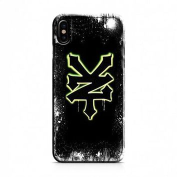 ZOO YORK GOLD LOGO iPhone X Case