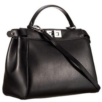 Fendi Peekaboo Medium Black Bag