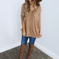 Soft & Perfect Top: Mocha