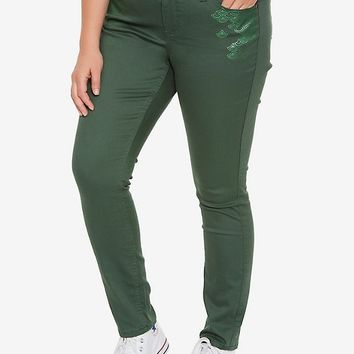 Destination Disney The Little Mermaid Ariel Scale Pants Plus Size