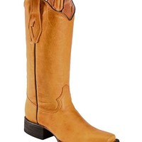 Tanner Mark Barcelona Buttercup Cowgirl Boots - Square Toe - Sheplers