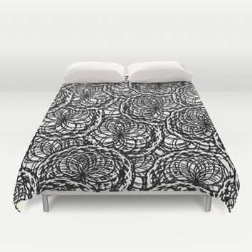 Yarn Patchwork Duvet Cover by UMe Images