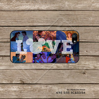 Disney, Phone Cases iPhone 5C Case iPhone 5S case iPhone 4 Case Samsung Galaxy S3 Galaxy S4 Galaxy S5 Note 2 Note 3  - M5258