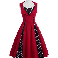 Belle Poque Women Dress Summer 2017 Retro Robe ete Polka Dot Pin Up Plus Size Clothing Vintage 50s 60s Rockabilly Dresses Tunic