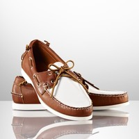 Telford Two-Toned Boat Shoe