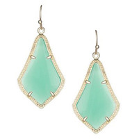 Kendra Scott Alex Earrings In Chalcedony Mint