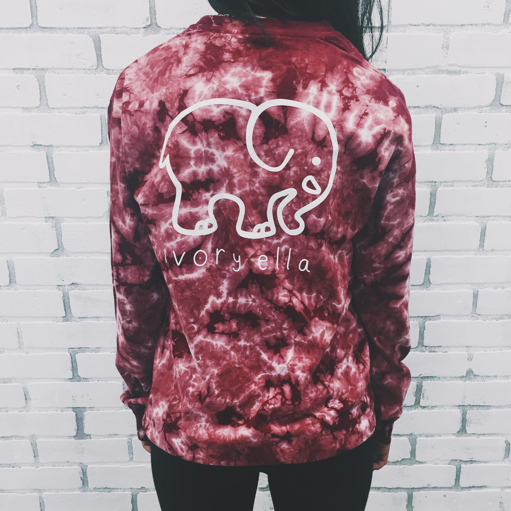 f046c9617 Pocketed Maroon Acid Wash Classic Print. Save See It.  ivoryella