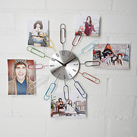 Streamline Paper Clip It Clock