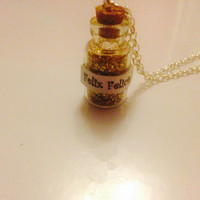 Felix felicis charm necklace