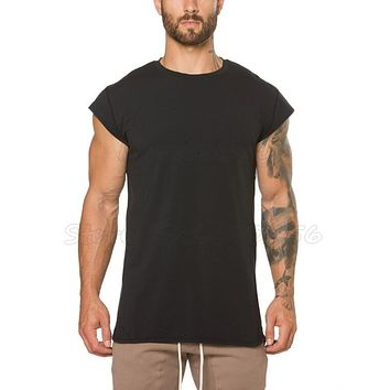 Brand mens clothing fitness gyms t shirt men bodybuilding muscle short sleeve t-shirt male tee shirt homme crossfit tshirt