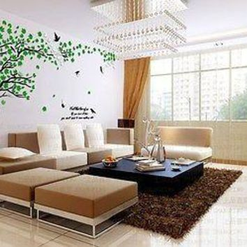 Acrylic Crystal Lovers Tree Loving Room 3-Dimensional Wall Decal Sticker