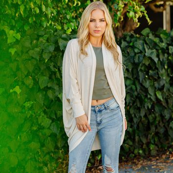 Count On Me Cardigan in Cream