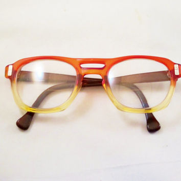 Vintage American Optical FLEXI FIT Z87 Safety Glasses 1960s