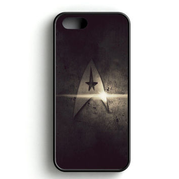 Gold Star Trek Logo Light iPhone 4s iPhone 5s iPhone 5c iPhone SE iPhone 6|6s iPhone 6|6s Plus Case