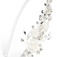Girl's Wedding Belles New York Rosette Headband