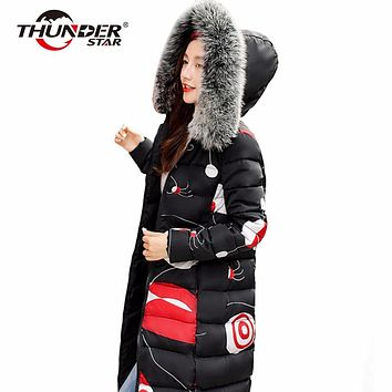 Womens Two Sides Warm Down Coat Long High quality Duck Down ladies Reversible Jacket Plus size Female parka for women HX6