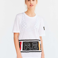 P.E Nation Sweet Blue Logo Tee - Urban Outfitters
