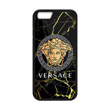 Best New Versace Black Marble Hard Case Cover for iPhone 7 Plus 7 6s Plus 6/6s