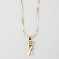 The Gold Gods Gold Nefertiti Piece Necklace Gold One Size For Men 25322962101