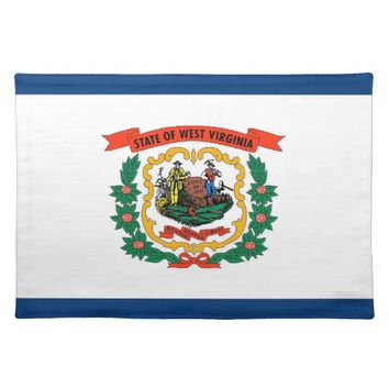 West Virginia Flag American MoJo Placemat