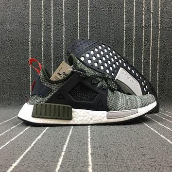 LMF8KY Adidas Boost Nmd R1 CQ1954 Grey Women Men Fashion Trending Running Sneakers