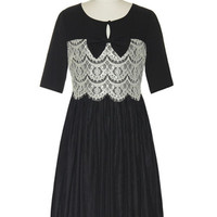 The Lacy Low-Down Dress